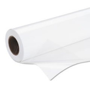 Production Self-Adhesive Glossy Poly Poster Plus 6 Mil 150cm X 30m White By