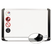 Porcelain Magnetic Dry Erase Board 48x96 White/silver By