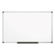 Porcelain Value Dry Erase Board 48 X 96 White Aluminium Frame By
