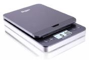 SAGA 30kg grey DIGITAL POSTAL SHIPPING SCALE by SAGA X 5ml WEIGHT USPS POSTAGE W/AC USB M Pro Model