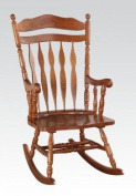 Black Finish Rocking Chair by Acme Furniture