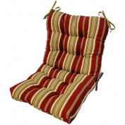 Outdoor Seat/Back Chair Cushion, Capulet Pompeii