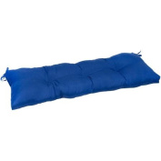 110cm . Outdoor Swing/Bench Cushion, Marine Blue