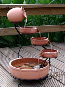 ASC Smart Solar Terracotta Sundance Ceramic Solar Water Fountain
