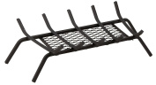 Panacea 15441 Five Bar Fire Grate with Ember Catcher, Black, 60cm