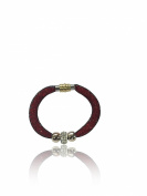 Designer Inspired Stardust Infinity Bracelet Bangle with Steel Magnetic Clasp & Shamballa Crystal Elements beads