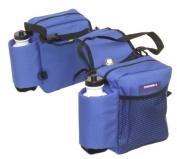 Tough-1 Nylon Water Bottle/Gear Carrier Saddle Bag