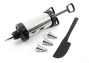 NEW STAINLESS STEEL CAKE-MAKING/DECORATING ICING SET