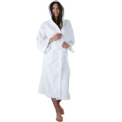 Unisex Men Womens Ladies 100% Pure Egyptian Cotton Luxurious Bathrobe Dressing Gown housecoat