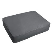Sloane Charcoal Grey 46cm x 70cm Indoor/ Outdoor Corded Edge Floor Cushion