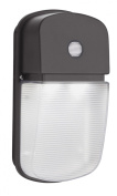 Lithonia OLWP 11 PE BZ M4 Wall Mounted Outdoor LED Light, Bronze