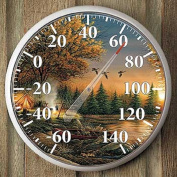 Evening Solitude Camping Thermometer by Terry Redlin