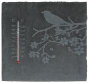 Esschert Design USA LS212 Square Slate Thermometer