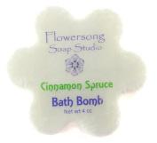 Cinnamon Spruce Bath Bomb