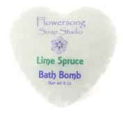 Lime Spruce* Bath Bomb