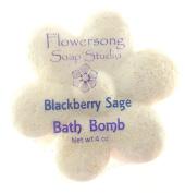Blackberry Sage Bath Bomb
