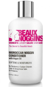 MOROCCAN NOGGIN Argan Oil Conditioner by BEAUX NOGGINS. FREE of Parabens, Sulphates & Sodium Chloride, Colour & Straightener Safe, UV Thermal Protectant. All natural hair care.