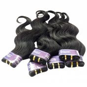 King Love Star Brazilian Virgin Hair Weave 6 Bundles 30cm a lot 300g Brazilian Body Wave Human Hair Extension Soft & Healthy
