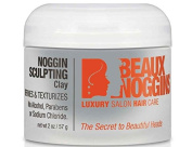 NOGGIN Sculpting Clay by Beaux Noggins Adds Definition, Texture & Separation to Long or Short Styles. Light Formula Absorbs Quickly. Salon Style Hair Care