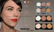 Premium Contour Highlight Bronx Makeup Effect Palette Set