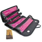 Utrax Travel Cosmetic Bag Roll up Makeup Toiletry Bags Organiser with Four Compartments