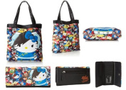 Hello Kitty Street Fighter Tote Bag and Wallet Set