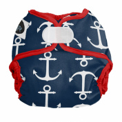 Imagine Baby Products Newborn Hook and Loop Nappy Cover, Overboard