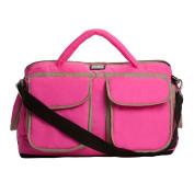 7AM Enfant Voyage Nappy Bag, Neon Pink, Large