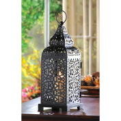 Zingz & Thingz 33cm Moroccan Tower Candle Lantern