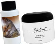 Eye Envy NR 59ml (2oz) Tear Stain Remover Solution for Cats & Jar of Dry Pads