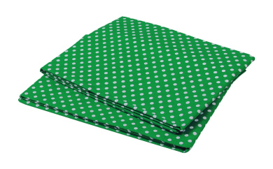 Bacati Mix and Match Pin Dots Crib Fitted Sheet, Green, 2 Count