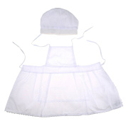 Superisun White Cute Cook Photos Photography Costume Unsize Baby Photography Prop for 0 - 2 Years Babies