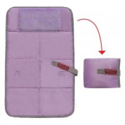Baby travel changing pad Lilac