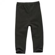 Black Leggings Pants Baby Certified Organic Cotton