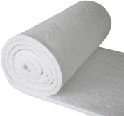Refractory Ceramic Fibre Blanket (8#, 2300F)(5.1cm x 60cm x 3.8m) for Ovens, Kilns, Furnaces, Glass Work, and Chimney Insulation
