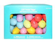 Pastel Plastic Easter Egg Containers 220 Count