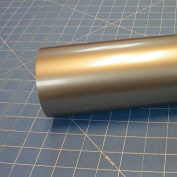 30cm x 3m Roll of Glossy Oracal 651 Metallic Silver Grey Vinyl for Craft Cutters and Vinyl Sign Cutters