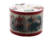Aimez Le Style Primaute Collection Playing Card Poker Design Washi Masking Deco Tape Wide.