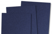 Blank Basis Navy 5x7 Flat Card Invitations - 250 Pack