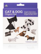 NPW Cat & Dog Origami Set