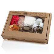 MakersKit Flower Votives Plaster Cast Kit