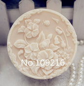 Creativemoldstore 1pcs Small Flowers (ZX105) Craft Art Silicone Soap Mould Craft Moulds DIY Handmade Soap Mould
