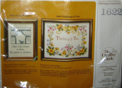 'Thinking of You' ( & More) Counted Cross Stitch Picture Kit #1622, Designed By Phyllis Kiger
