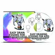 Easy Drawing Lessons for Kids - Learn How to Draw Step by Step - What To Draw And How To Draw It by Edwin George Lutz - CD Tutorial