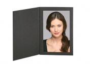 Cardboard Photo Folder Frame 4x6 - Pack of 100 Black