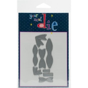 Your Next Stamp Die-Small & Mini Bow Set