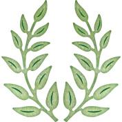 Cheery Lynn Designs B147 Olive Branches Scrapbooking Die Cut