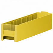 Akro-Mils 20228 Replacement Drawer for 19228 Steel Storage Cabinet, Yellow, Case of 56