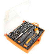 Ratchet Driver Screwdriver Set Socket Kit 74 Bits Magnetic