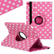 iPad Mini 4 Case, Fogeek® Lovely Polka Dots Pattern 360 Degree Rotating Swivel Stand Leather Case Smart Cover for iPad Mini 4 with Auto Sleep/Wake Function